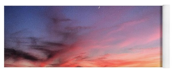 Sunset Moon Rise Yoga Mat