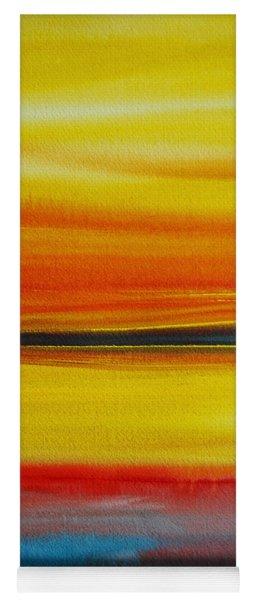 Sunset On The Puget Sound Yoga Mat