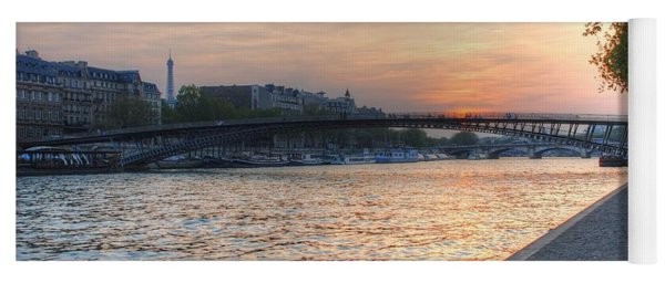 Sunset On The Seine Yoga Mat