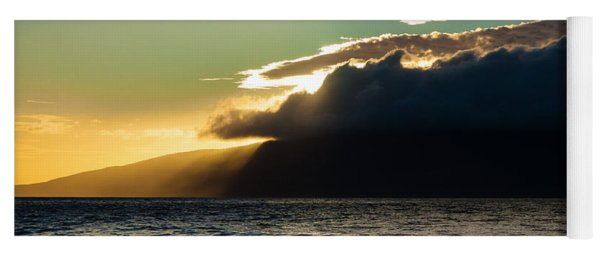 Sunset Over Lanai   Yoga Mat