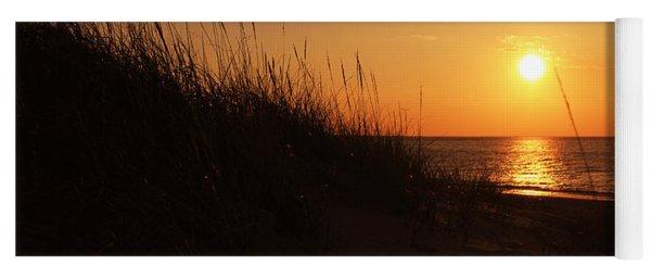 Sunset Over The Dune Yoga Mat
