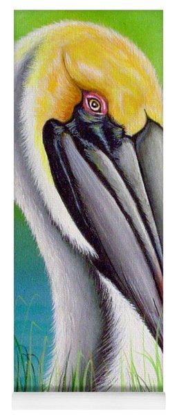 Sunset Pelican Yoga Mat