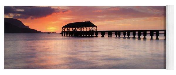Sunset Pier Yoga Mat
