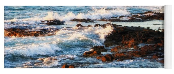 Sunset Shore Yoga Mat