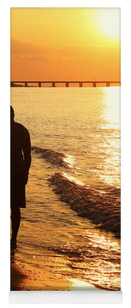 Sunset Stroll Yoga Mat