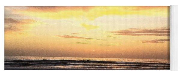 Sunset Surfer Yoga Mat