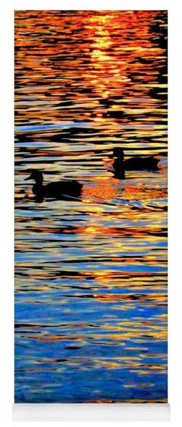 Sunset Swim Yoga Mat