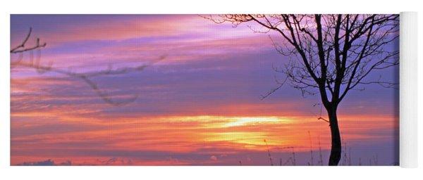 Sunset Yoga Mat