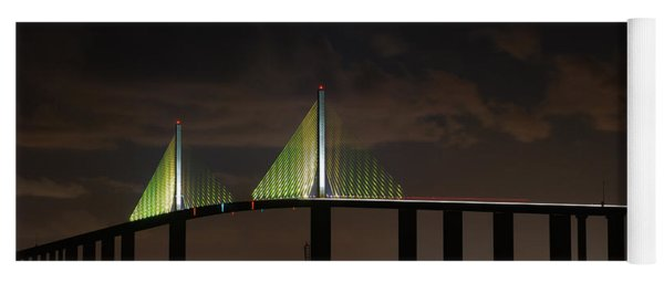 Sunshine Skyway Bridge Yoga Mat