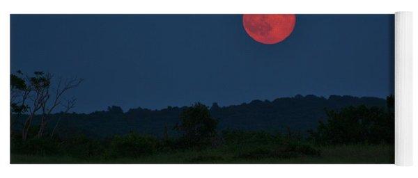 Super Moon July 2014 Yoga Mat