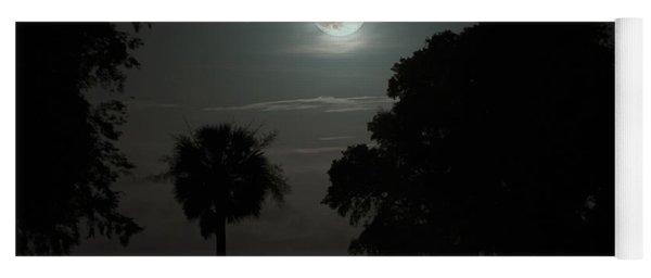 Super Moon Over Wimbee Creek Yoga Mat