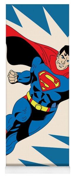 Superman 8 Yoga Mat
