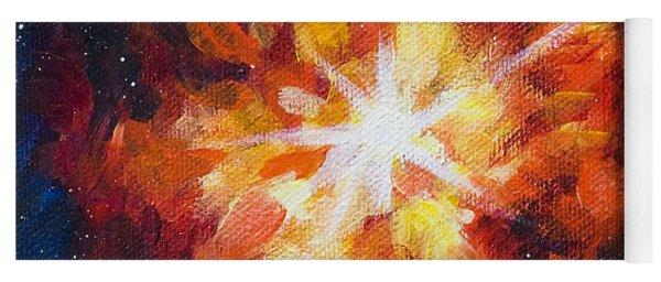 Supernova Explosion Yoga Mat