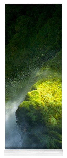 Surrounded By Mist   Vertical Yoga Mat