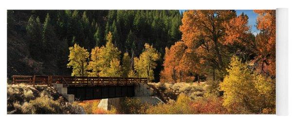 Susan River Bridge On The Bizz 2 Yoga Mat