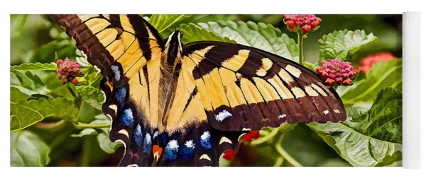 Swallowtail Beauty Yoga Mat