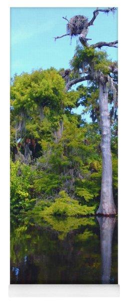 Swamp Land Yoga Mat