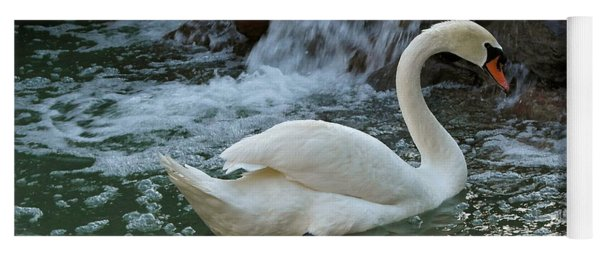 Swan A Swimming Yoga Mat