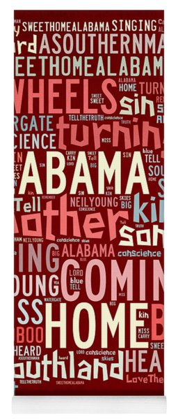 Sweet Home Alabama 4 Yoga Mat