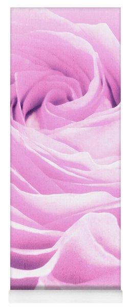 Sweet Pastel Rose Yoga Mat