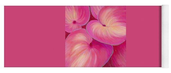 Yoga Mat featuring the painting Sweet Tarts II by Sandi Whetzel