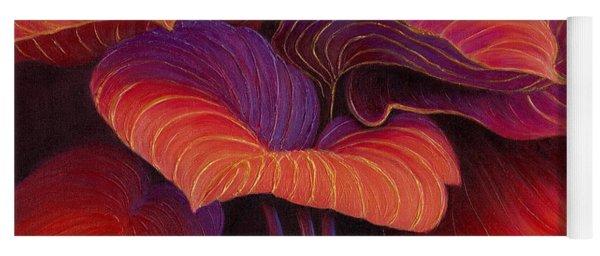 Yoga Mat featuring the painting Sweet Tarts by Sandi Whetzel
