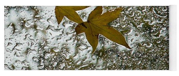 Symbols Of Autumn  Yoga Mat