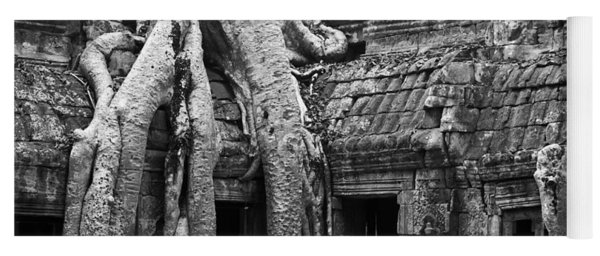 Ta Prohm Roots And Stone 01 Yoga Mat