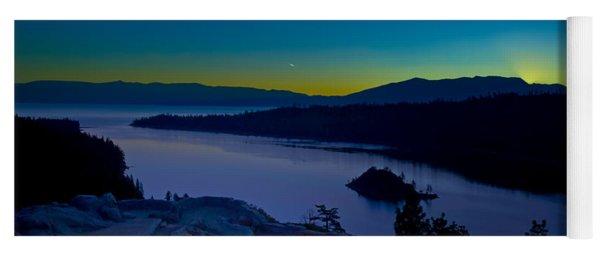 Tahoe Sunrise Yoga Mat