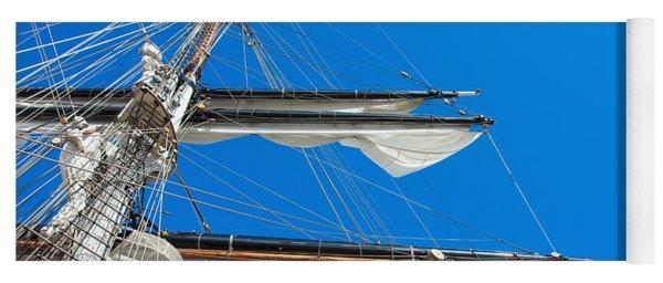 Tall Ship Yards Yoga Mat