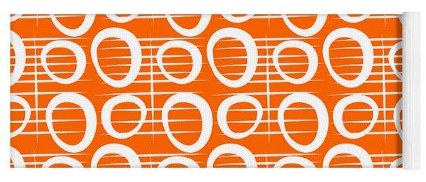 Tangerine Loop Yoga Mat