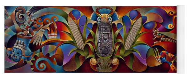 Tapestry Of Gods Yoga Mat