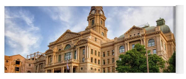 Tarrant County Courthouse II Yoga Mat