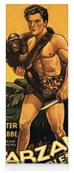 Tarzan The Fearless  Yoga Mat