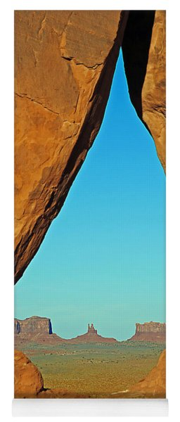 Tear Drop Arch Monument Valley Yoga Mat