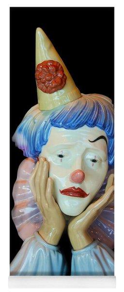 Tears Of A Clown Yoga Mat
