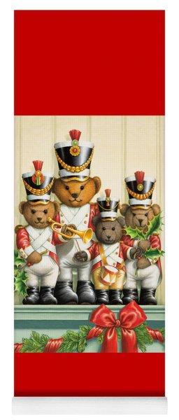 Teddy Bear Band Yoga Mat