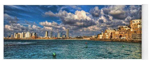 Tel Aviv Jaffa Shoreline Yoga Mat