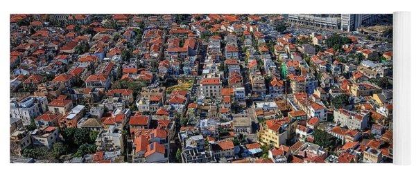 Tel Aviv - The First Neighboorhoods Yoga Mat