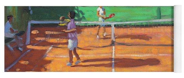 Tennis Practice Yoga Mat