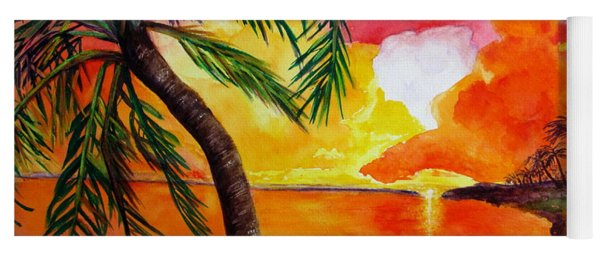 Tequila Sunset Yoga Mat