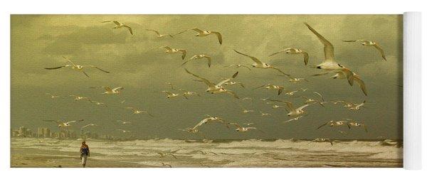 Terns In The Clouds Yoga Mat