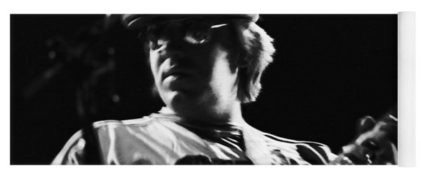 Terry Kath At The Cow Palace In 1976 Yoga Mat