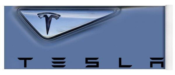 Tesla Artwork Yoga Mat