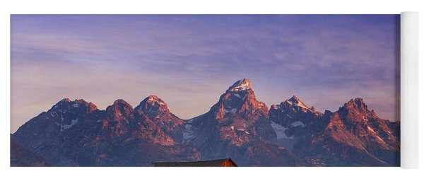 Teton Sunrise Yoga Mat