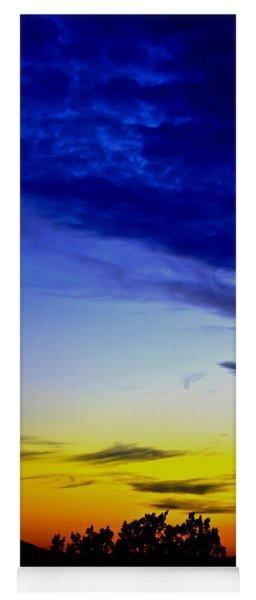 Texas Hill Country Sunset Yoga Mat