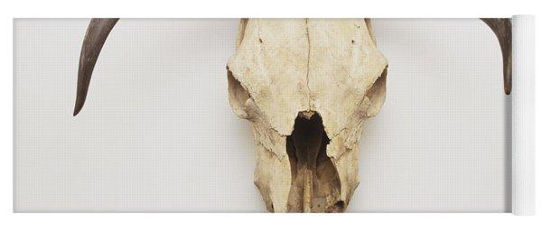 Texas Longhorn Skull Yoga Mat
