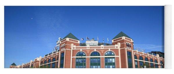 Texas Rangers Ballpark In Arlington Yoga Mat