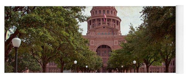Texas State Capitol IIi Yoga Mat