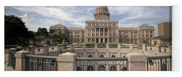 Texas State Capitol Iv Yoga Mat